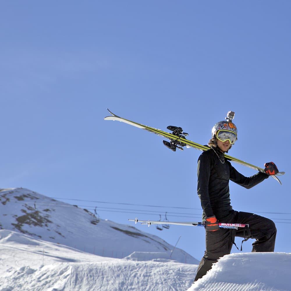 Skier Olfi Camera Bundle